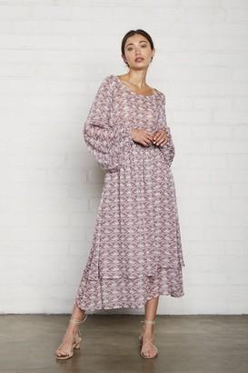 Rachel Pally Chiffon Adrian Dress - Dove Print