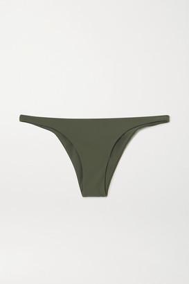 Anémone Bikini Briefs - Army green