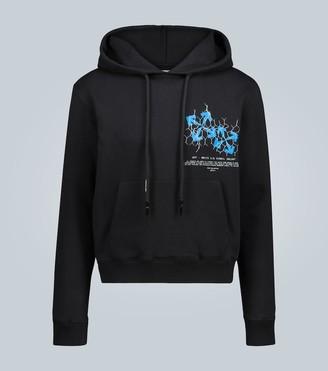 Off-White Fence Arrow hooded sweatshirt