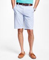 Brooks Brothers Stripe Seersucker Bermuda Shorts