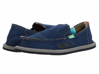 Sanuk Vagabond Boys (Little Kid/Big Kid) Navy 1 Little Kid M