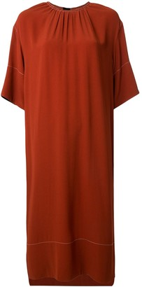 Marni Contrasting Detail Straight-Fit Dress