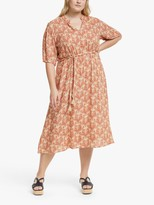 Junarose Curve Laya Floral Dress, Cuban Sand