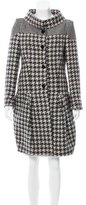 Stella McCartney Wool Houndstooth Coat