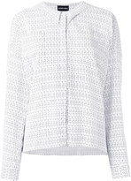 Emporio Armani printed shirt - women - Viscose - 38