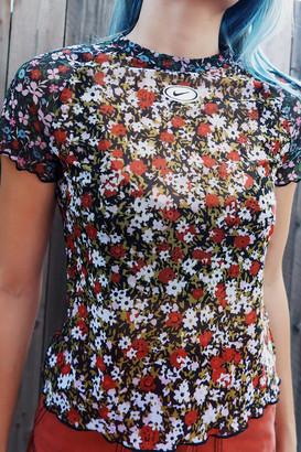 Nike Sportswear Floral Mesh Top