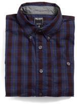 Todd Snyder Gable Shirt in Blue Plaid