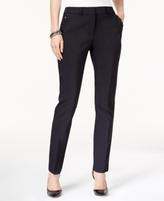 JM Collection Petite Rivet-Pocket Straight-Leg Pants, Created for Macy's