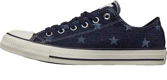 Converse Chuck Taylor All Star Ox Flag Print Trainers Inked/Egret