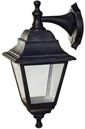 Blink Belted W - Rustic Wall Light, Black ingress protection 44, E27 Maximum 100 W, 230 V
