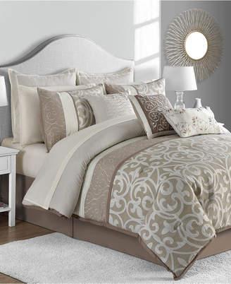 Sunham Montauk 14-Pc. Queen Comforter Set Bedding