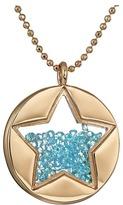Betsey Johnson Blue Shaky Star Pendant Necklace