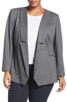 Melissa McCarthy Plus Size Women's Draped Blazer