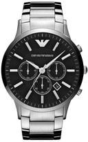 Emporio Armani 'Classic' Large Round Chronograph Watch, 46mm