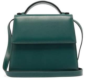Hunting Season Top Handle Small Leather Bag - Womens - Green
