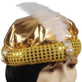 Loftus Adult Arabian Prince With Feather Costume Hat