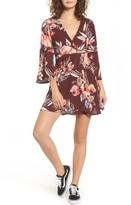 Billabong Women's Divine Floral Print Dress