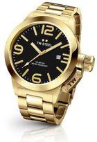 TW Steel Canteen Goldtone Stainless Steel Bracelet Watch