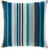 """Elaine Smith Lagoon Stripe Pillow, 20""""Sq."""