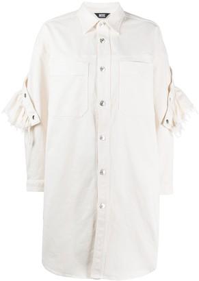 Diesel D-Babol ruffle-trimmed shirt dress