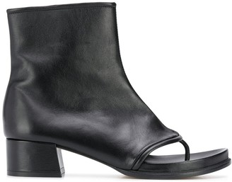 Loewe Thong Strap Ankle Boots