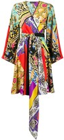 Etro asymmetrical dress