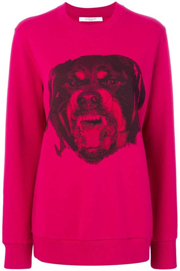 Givenchy rottweiler print sweatshirt