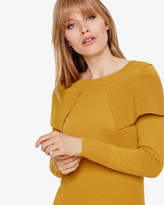 Thumbnail for your product : Phase Eight Agnes Fold Over Knitted Jumper