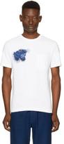 Blue Blue Japan White Tiger Face T-shirt