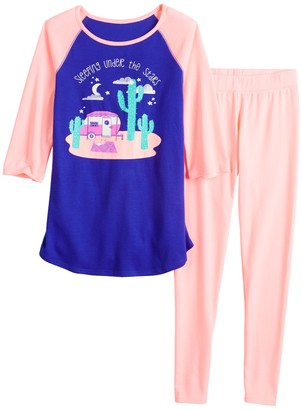 So Girls 7-16 2-piece Pajama Set