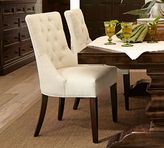 Pottery Barn Hayes Tufted Side Chair - Quick Ship