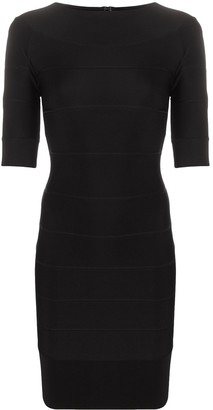 Herve Leger Icon bodycon dress