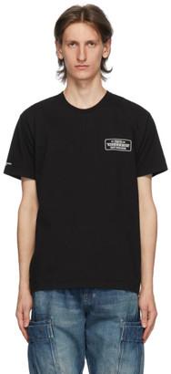 Neighborhood Black Bar and Shield T-Shirt