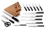 Messermeister Meridian Elité 16-Piece Knife Block Set