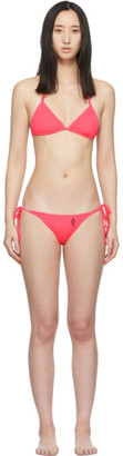 Marcelo Burlon County of Milan Pink Cross Bikini