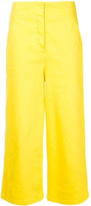 Tibi cropped wide-leg jeans