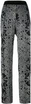 Diane von Furstenberg printed trousers - women - Silk/Polyester/Spandex/Elastane/Triacetate - S