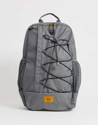 Timberland bungee detail backpack in black