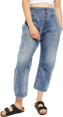Free People Osaka Relaxed Straight Leg Jeans