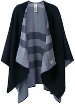 Burberry checked reversible cape - women - Cashmere - One Size