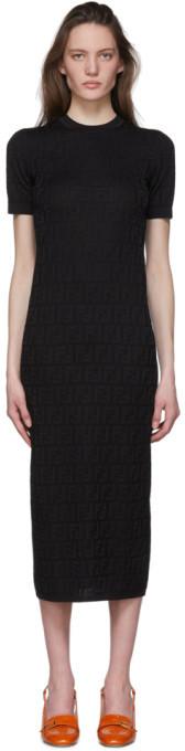 Fendi Black Forever Dress