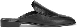 Rag & Bone Aslen Stingray-effect And Textured-leather Slippers