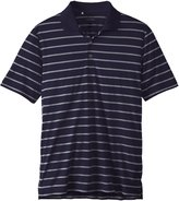 adidas Men's Puremotion 2 Color Stripe Jersey Polo