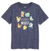 JEM Toddler Boy's Pokemon - Choose Wisely Graphic T-Shirt