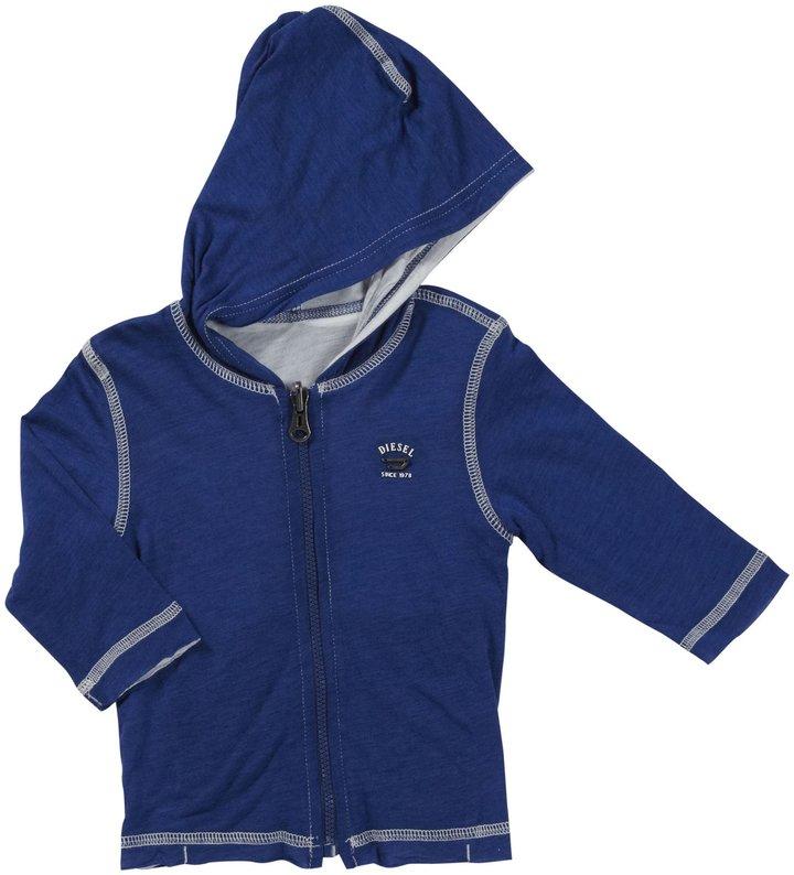 Diesel 'Tazisyb' Zip-Up Hoodie (Baby) - Royal Blue-3 Months