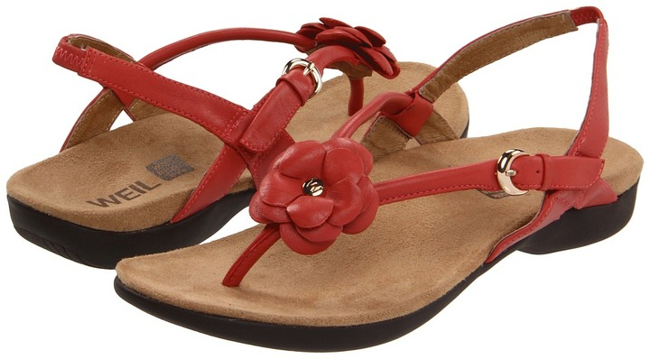 Orthaheel Dr. Weil by Dhyana Sandal (Coral) - Footwear