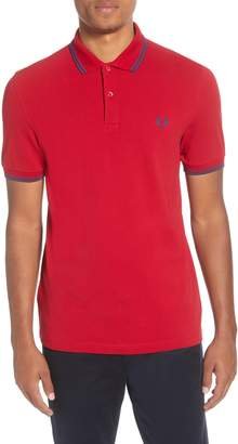 Fred Perry Twin Tipped Extra Slim Fit Pique Polo