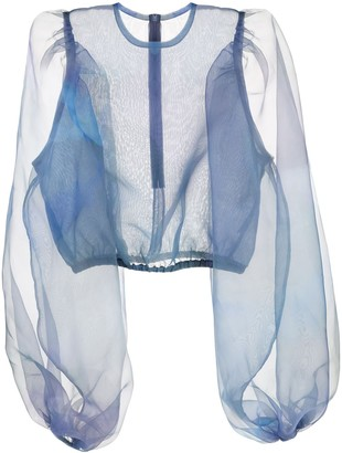 Beaufille Sheer Design Blouse