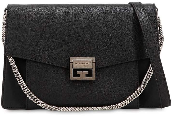 Givenchy Medium Gv3 Grained Leather Shoulder Bag