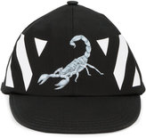 Off-White scorpion print cap - men - Cotton - One Size